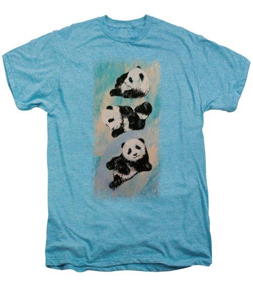 Panda Karate Men's Premium T-Shirt