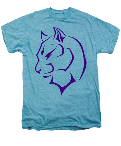 Panther Men's Premium T-Shirt by Frederick Holiday