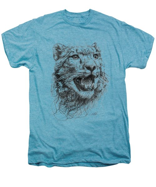 Leopard Men's Premium T-Shirt by Michael  Volpicelli