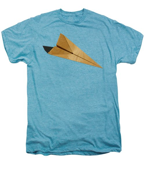 Paper Airplanes Of Wood 15 Men's Premium T-Shirt by YoPedro