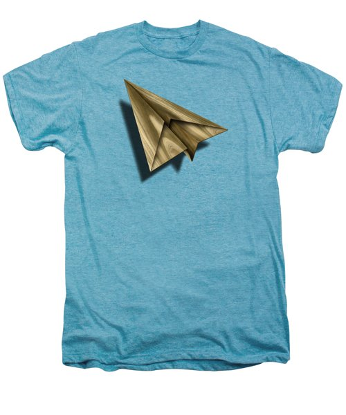 Paper Airplanes Of Wood 18 Men's Premium T-Shirt by YoPedro