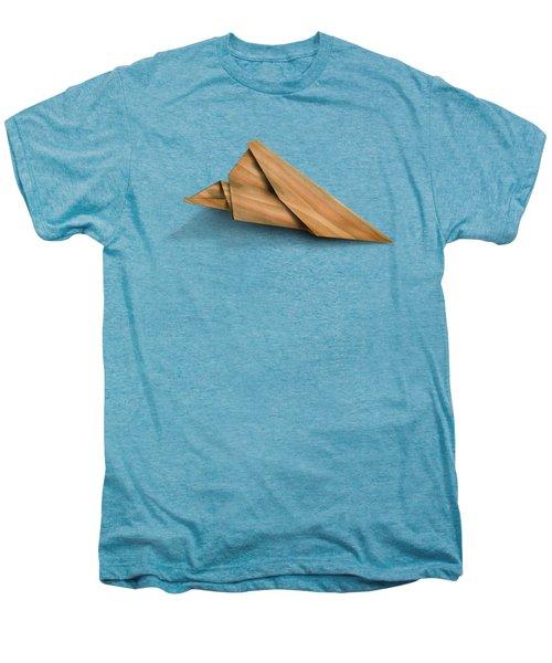 Paper Airplanes Of Wood 2 Men's Premium T-Shirt by Yo Pedro