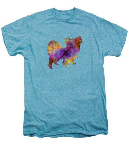 Papillon In Watercolor Men's Premium T-Shirt by Pablo Romero