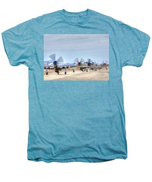Parade Of Mustangs Men's Premium T-Shirt