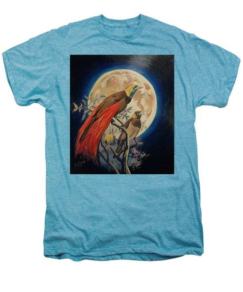 Paradise Birds Men's Premium T-Shirt by Nop Briex