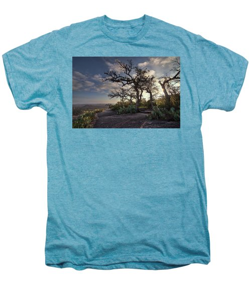 Pathway On Top Of Enchanted Rock Men's Premium T-Shirt