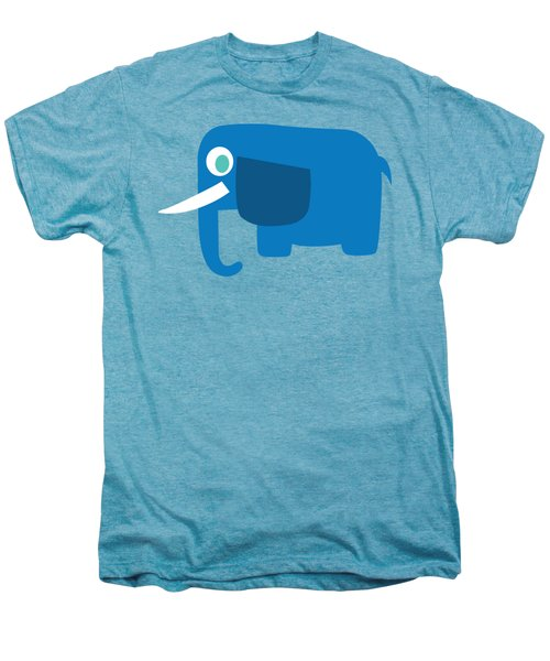 Pbs Kids Elephant Men's Premium T-Shirt by Pbs Kids