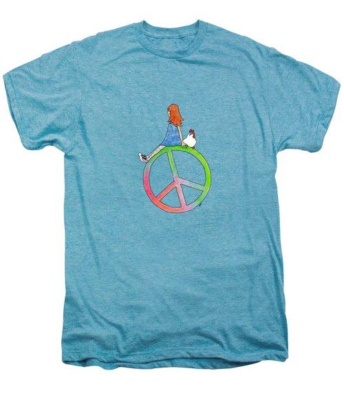 Peace And Hope Men's Premium T-Shirt
