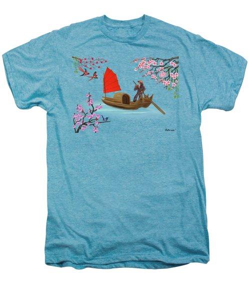 Peaceful Journey Men's Premium T-Shirt by Glenn Holbrook