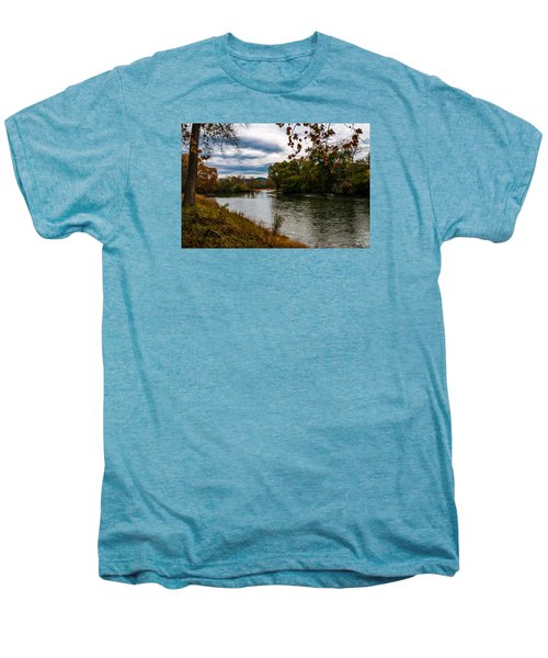 Peaceful River Men's Premium T-Shirt