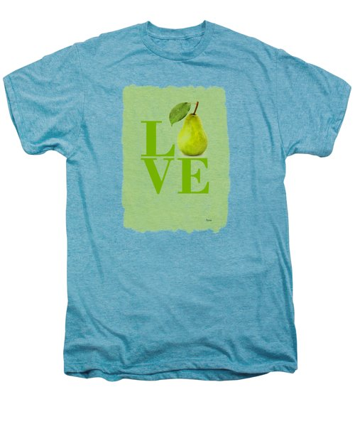 Pear Men's Premium T-Shirt by Mark Rogan
