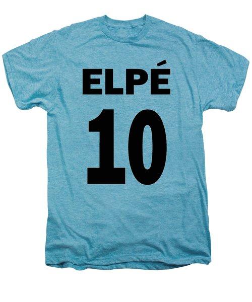 Pele 10 Men's Premium T-Shirt by Charlie Ross