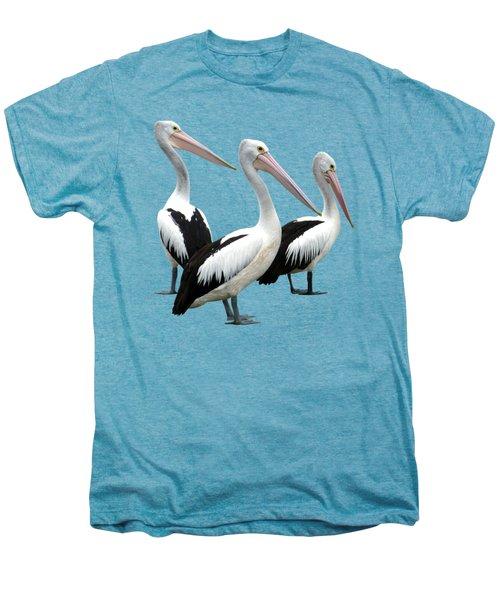 Pelican Beach Men's Premium T-Shirt