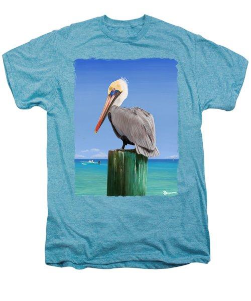 Pelicans Post Men's Premium T-Shirt