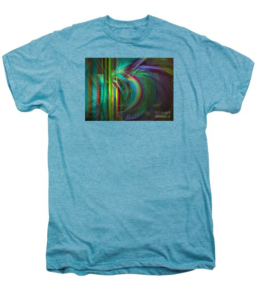 Penetrated By Life - Abstract Art Men's Premium T-Shirt