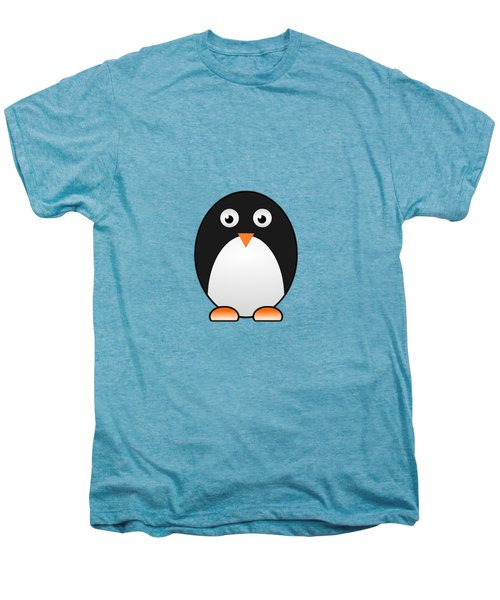 Penguin - Birds - Art For Kids Men's Premium T-Shirt by Anastasiya Malakhova