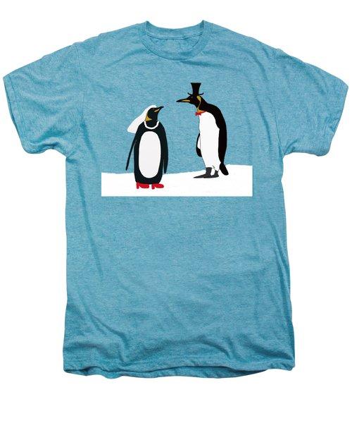 Penguin Marriage Men's Premium T-Shirt