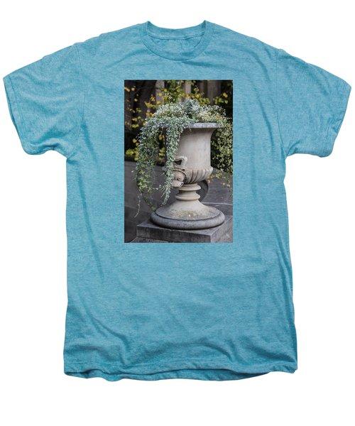 Penn State Flower Pot  Men's Premium T-Shirt by John McGraw