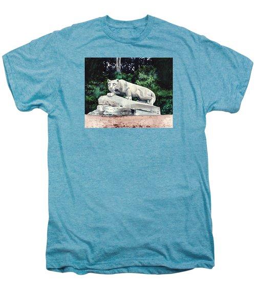 Penn State Nittany Lion Shrine University Happy Valley Joe Paterno Men's Premium T-Shirt by Laura Row