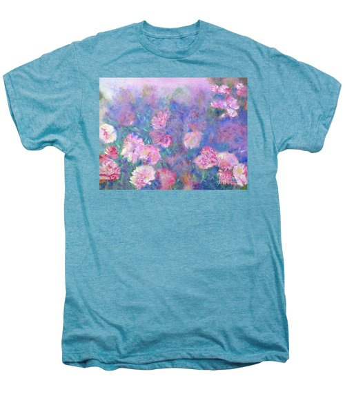Peonies Men's Premium T-Shirt