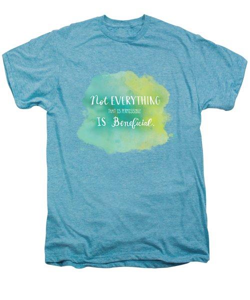 Permissible Men's Premium T-Shirt by Nancy Ingersoll