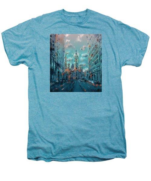 Philadelphia Street Men's Premium T-Shirt by Bekim Art