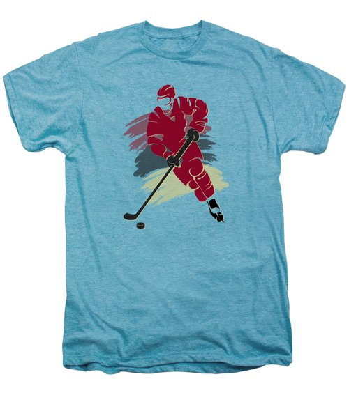 Phoenix Coyotes Player Shirt Men's Premium T-Shirt by Joe Hamilton