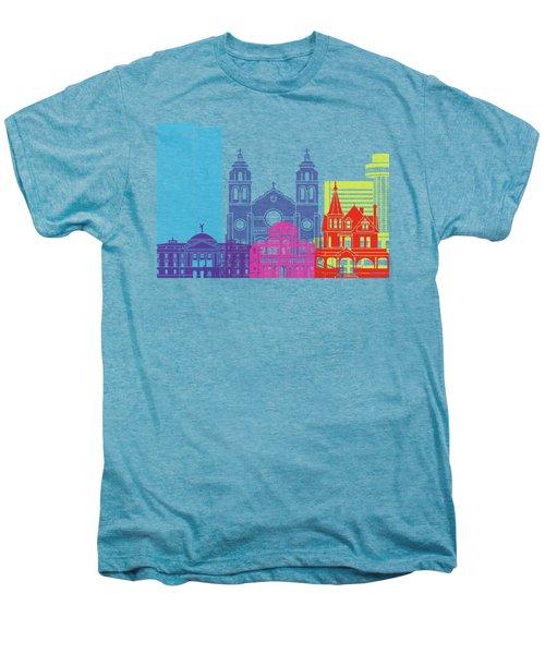 Phoenix Skyline Pop Men's Premium T-Shirt by Pablo Romero