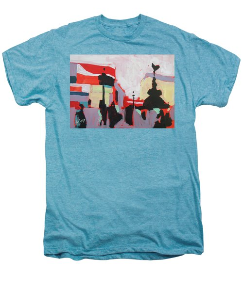 Piccadilly Circus Men's Premium T-Shirt by Nop Briex