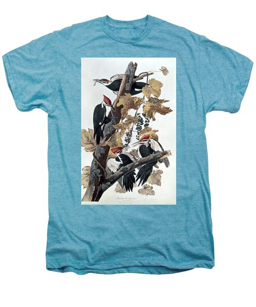 Pileated Woodpeckers Men's Premium T-Shirt