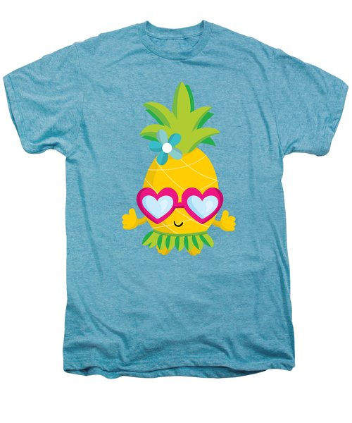 Pineapple Hula Men's Premium T-Shirt