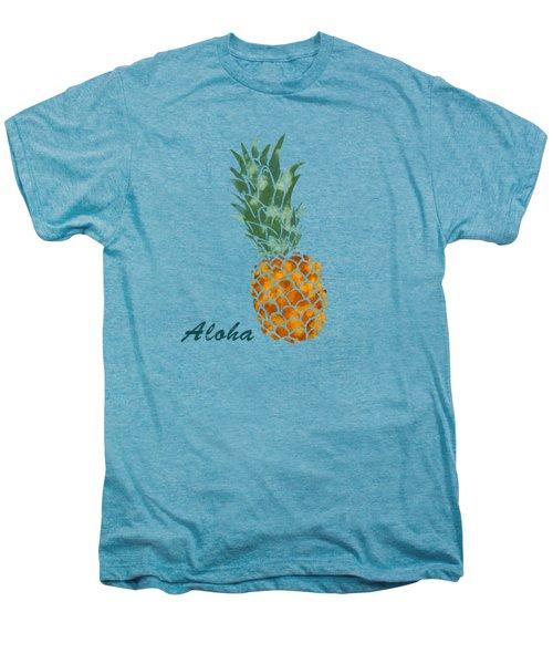 Pineapple Men's Premium T-Shirt by Jirka Svetlik