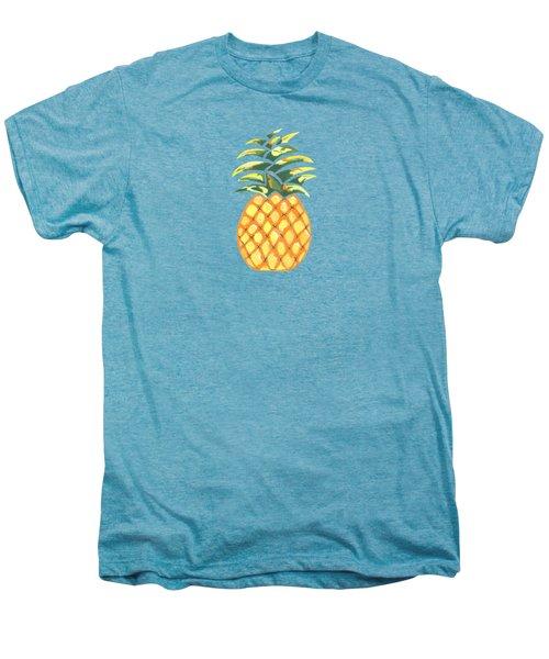 Pineapple Men's Premium T-Shirt by Kathleen Sartoris