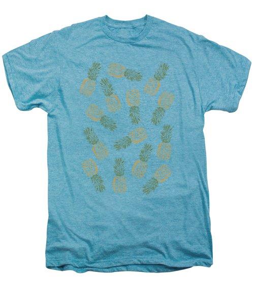 Pineapples Men's Premium T-Shirt by Rui Faria