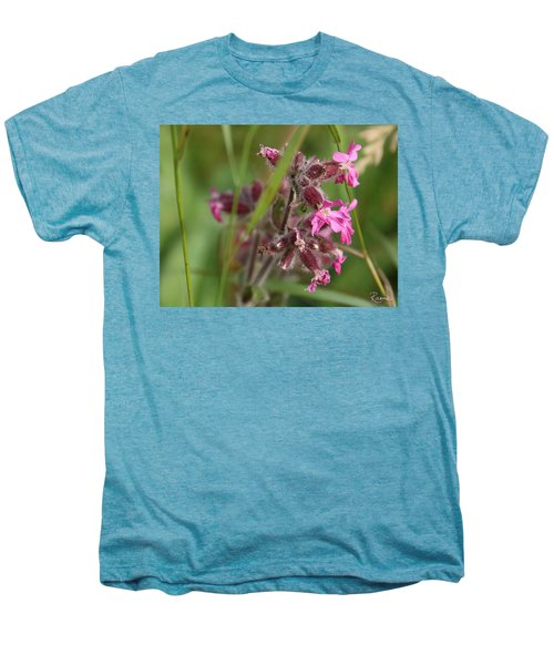 Pink Campion In August Men's Premium T-Shirt