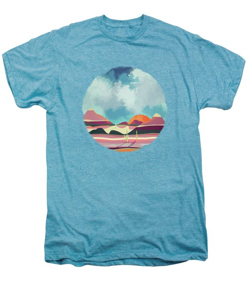Pink Desert Glow Men's Premium T-Shirt