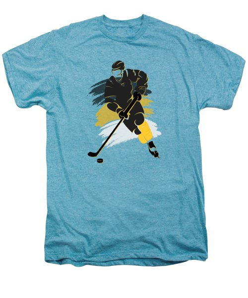Pittsburgh Penguins Player Shirt Men's Premium T-Shirt by Joe Hamilton