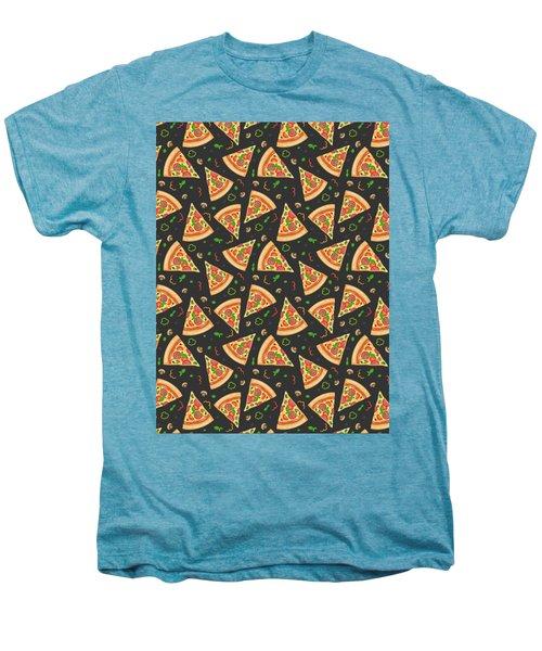 Pizza Slices Men's Premium T-Shirt by Ludmila Novikova