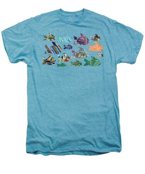 Fish In The Sea Men's Premium T-Shirt