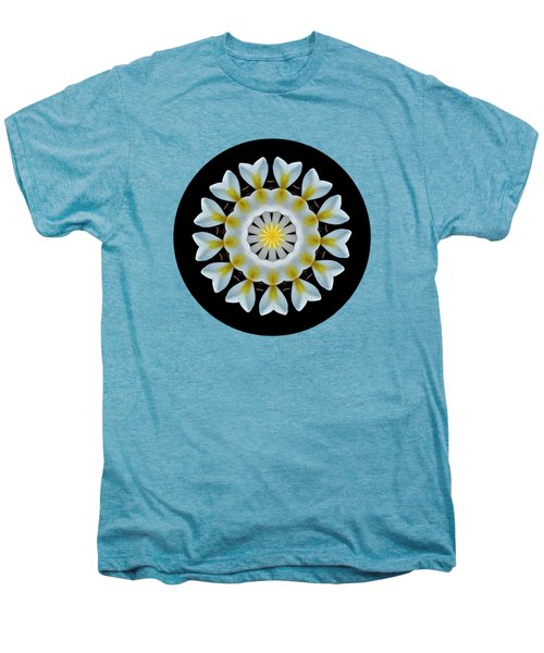Plumeria Mandala By Kaye Menner Men's Premium T-Shirt