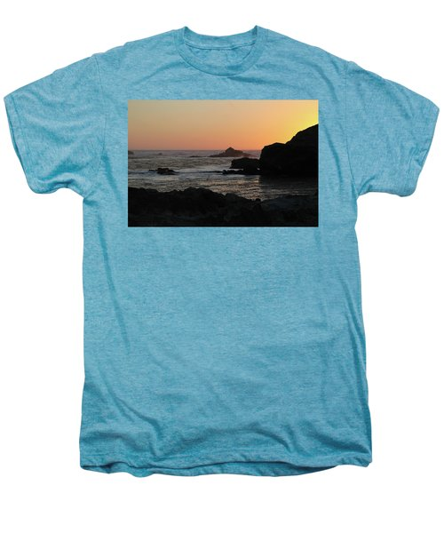 Men's Premium T-Shirt featuring the photograph Point Lobos Sunset by David Chandler