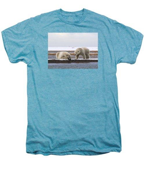 Polar Bear Zzzzzzz's Men's Premium T-Shirt