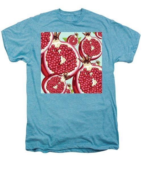 Pomegranate   Men's Premium T-Shirt by Mark Ashkenazi