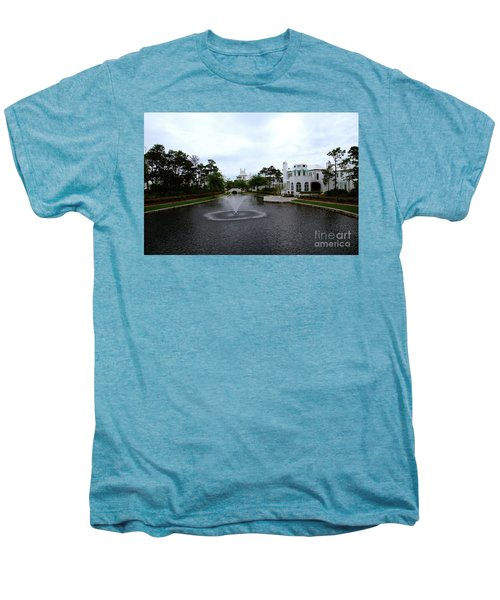 Pond At Alys Beach Men's Premium T-Shirt by Megan Cohen