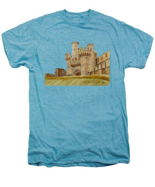 Ponferrada Templar Castle  Men's Premium T-Shirt