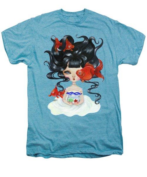 Pop-eyed Goldfish Men's Premium T-Shirt