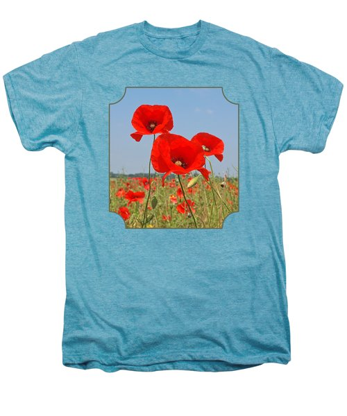 Poppy Fields 4 Men's Premium T-Shirt