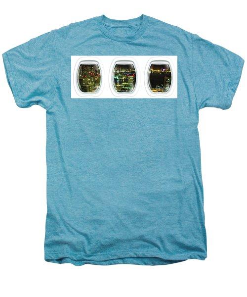 Porthole Frame On Tokyo Bay Area Men's Premium T-Shirt