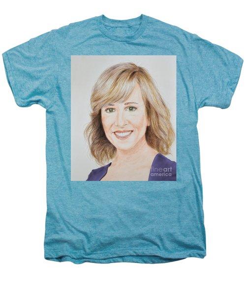 Portrait Of Jamie Colby Men's Premium T-Shirt