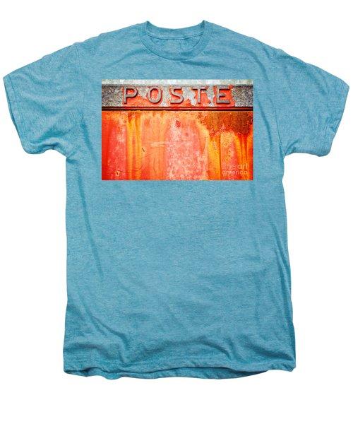 Poste Italian Weathered Mailbox Men's Premium T-Shirt